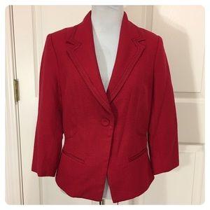 NWOT. White House Black Market red blazer